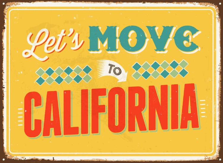 Moving to California